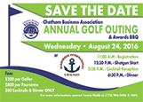 2016 Golf Outing Save the date August 24, 2016